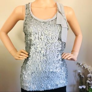New York Company Women's Blouse with Sequins front